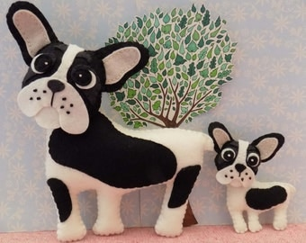 Flora the Frenchie Sewing Pattern. Instant Download.