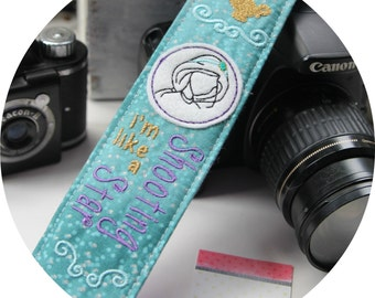 Jasmine Quote Cameo Camera Strap DSLR slr