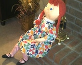 5 to 6 foot tall Priscilla Doll ( 3 ft. sitting height)