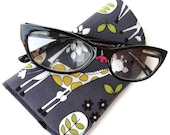 Eyeglass Case~Cover  / Sunglass Case~Cover / Reading Glasses Case~Cover in a Giraffe Pattern~ReADY TO SHiP