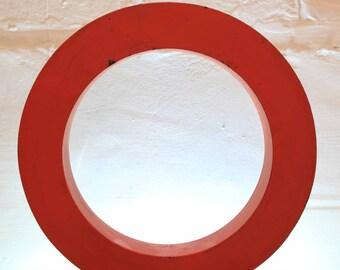 Vintage Letter O, Metal Red Letter O, Vintage  Letter, Alphabet, O, Wall Art, Olivia, Oliver,