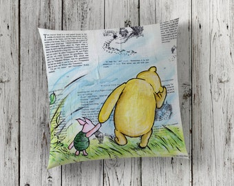 Decorative Pillow of Winnie The Pooh and Piglet