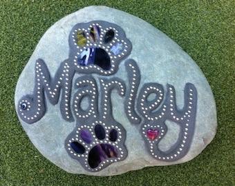 Pet Memorial Garden Stone Mosaic