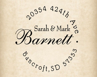 Return address stamp,SELF INKING custom address stamp,personalized wedding address stamp,family address stamp,R91