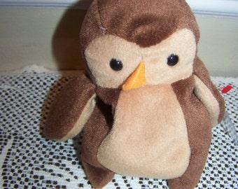 Hoot Beanie Baby owl