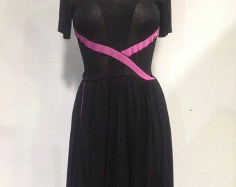 1970s Bruce Oldfield for Bergdorf Goodman Dress