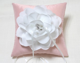 Wedding ring bear pillow pink ring pillow bridal ring pillow wedding ceremony ring & Pink ring pillow   Etsy pillowsntoast.com