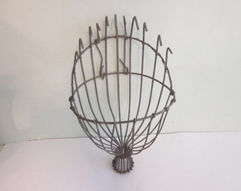 Vintage Wire Apple Picker