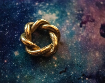Hexagram Brass Coil