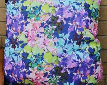 Floral print cushion 40cm x 40cm
