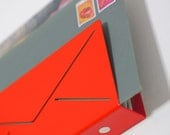 NEW - Red Mail Organizer magnetic key holder