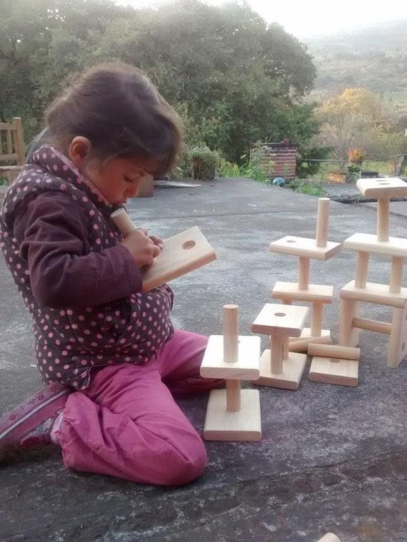 how to make interlocking blocks