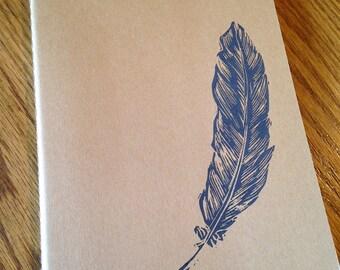Hand-Printed Moleskin cahier