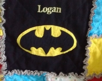 ADD ON - Embroidered Name - Add on to any Superhero Blanket