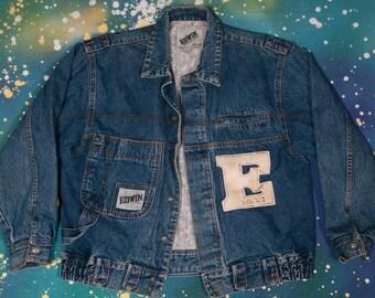 EDWIN Denim Jacket Size L