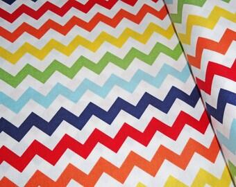 0,5 x 1,12 m COTTON fabric Riley Blake CHEVRON zig zag, 100% cotton