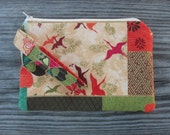 Wristlet Purse, Wristlet Clutch, Cell Phone Wristlet, Wristlet Wallet, Japanese Print, Japanese Fabric, Bags and Purses