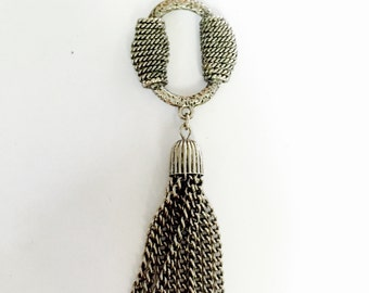 Vintage Sara Coventry Antique Lady Tassel Necklace