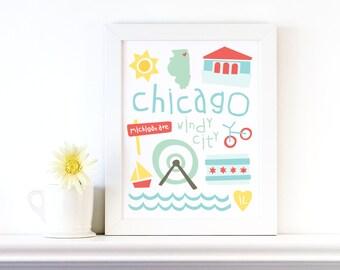 chicago print