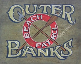 Outer Banks ( OBX ) Beach Patrol Print