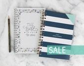 SALE! 2016 Weekly Planner + Lined Notebook Bundle