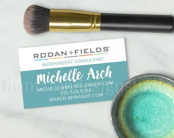 Rodan and Fields Business Cards, Digital File, Custom Business Card