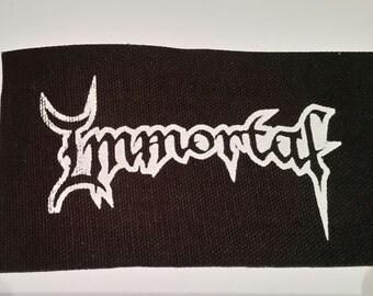 IMMORTAL PATCH - Black Metal Patch
