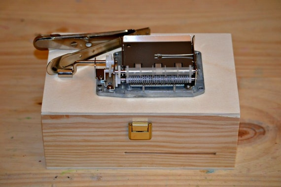 Pack DIY Music box: Mechanism 30 notes to make Your own ...