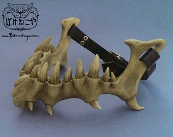 Dragonlord Jaw bone mask