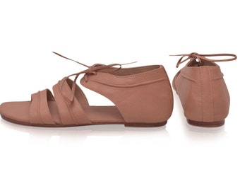 SALE. Sz. 10 TRIBAL DANCE. Leather shoes / women's sandals / leather sandals / flat leather shoes / barefoot sandals / boho shoes / bohemian