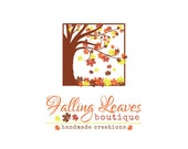 Boutique Logo Design - Original Professional Branding - OOAK Brand - One of a Kind Business Brand - Tree Logo - Leaf Logo - Leafy Logo