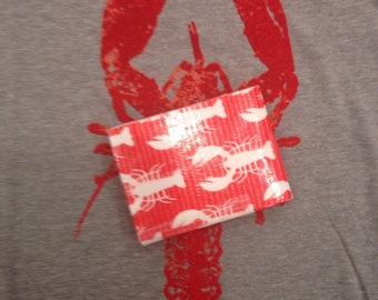 Cape Cod Lobster Duct Tape Wallet