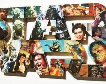 STAR WARS LOGO wall plaque (made to order)