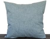 Throw pillow cover Jackson Vintage light blue cushion cover traditional contemporary modern home decor
