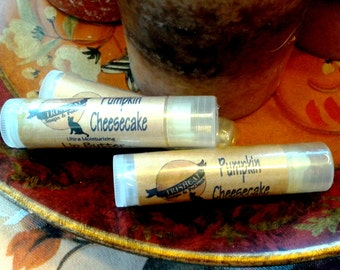 Lip Balm Pumpkin Cheesecake Vegetarian Lip Balm