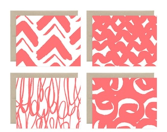Geomodtric Assorted Notecard Set
