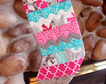 Girls Quilted Stocking