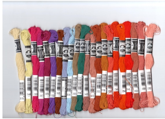 DMC Flower Thread - Pack of 10 - Select Your Own Colors