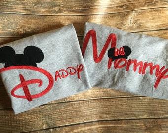 Family Disney shirts, personalized name disney shirts, matching disney shirts, disney vacation shirts, disney trip shirts, family disney,