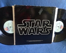 "RARE, Vintage, ""Star Wars"" John Williams, Original Film Score, Movie Soundtrack, Vinyl 2 LP Set, Record Album, A New Hope"