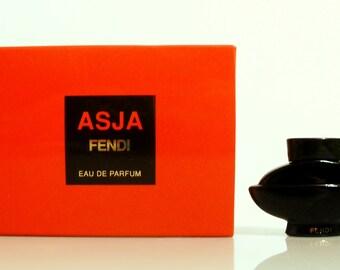 Vintage 1990s Asja by Fendi 0.17 oz Eau de Parfum Mini Miniature PERFUME