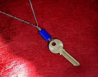 TARDIS Love #2 - TARDIS Key Necklace