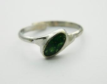 Silver Adventurine Ring - VR0017