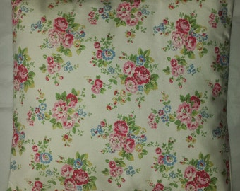"""Cushion Cover in Cath Kidston Spray Flowers White 14"""" 16"""" 18"""" 20"""""""