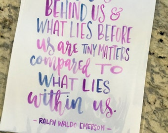 What Lies Within Us -- prints or cards
