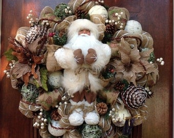 Large Winter/Christmas Wreath