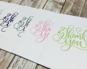 Funny Thank you-Set of 5