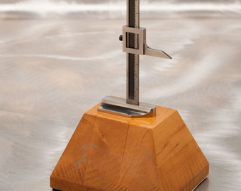 1970's Machinist Trophy - Retirement Award  - One of a Kind Display Piece