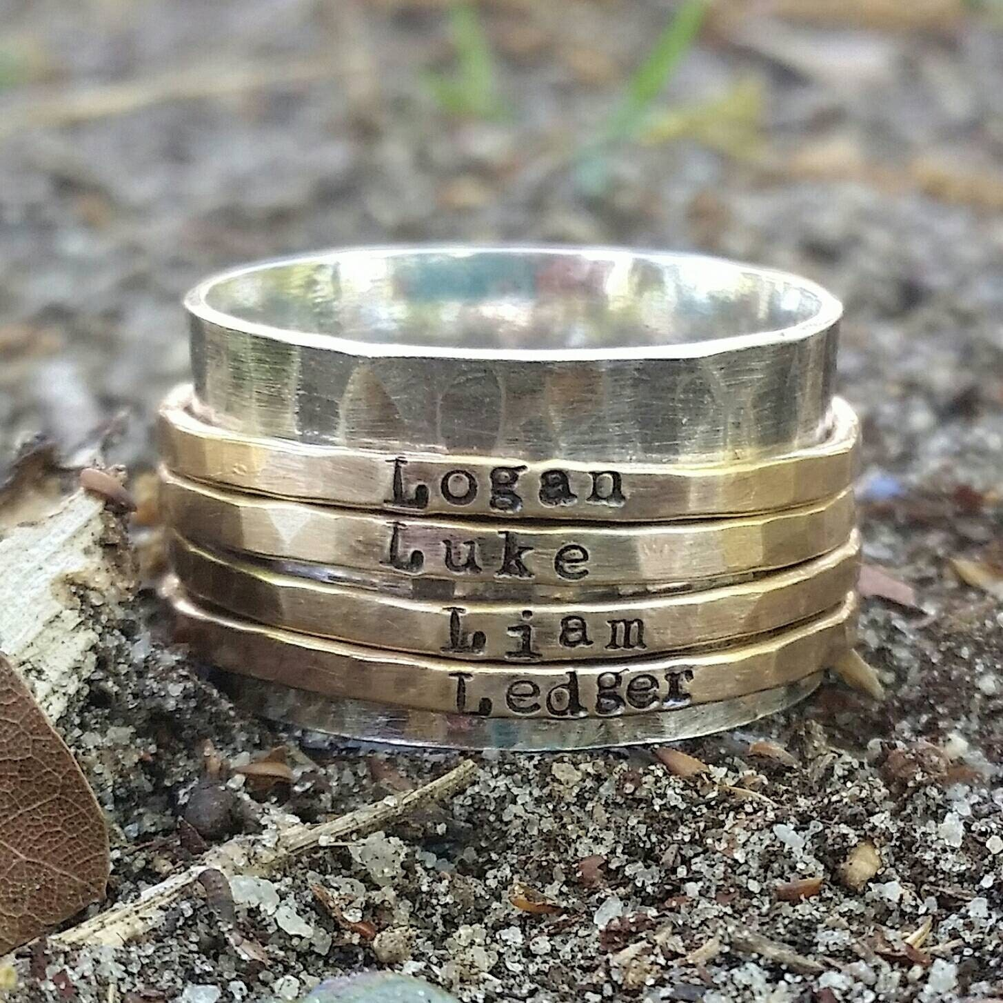Spin Ring Personalized