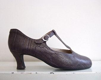 Jan Jansen | retro flapper 1920s/30s designer's shoes | size 39 1/2